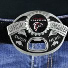 "SWW19708BK - ATLANTA FALCONS ""OFFICIAL TAILGATER"" BELT BUCKLE WITH BOTTLE OPENER"