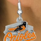 SWW14813E - BALTIMORE ORIOLES LOGO EARRINGS