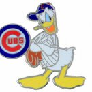 SWW21006P - SILVER TONE CHICAGO CUBS AND DONALD DUCK LOGO LAPEL PIN