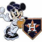 SWW21012P - SILVER TONE HOUSTON ASTROS  AND MICKEY MOUSE LOGO LAPEL PIN