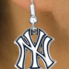 SWW14783E - NEW YORK YANKEES EARRINGS