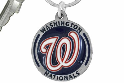 SWW16866KC - WASHINGTON NATIONALS KEY CHAIN