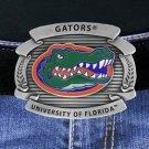 "SWW17771BK - UNIVERSITY OF FLORIDA GATORS"" LOGO BELT BUCKLE"