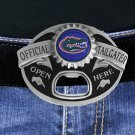"SWW17769BK - UNIVERSITY OF FLORIDA GATORS ""OFFICIAL TAILGATER"" BELT BUCKLE WITH BOTTLE OPENER"