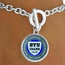 SWW15227B - BRIGHAM YOUNG UNIVERSITY VIKINGS BRACELET