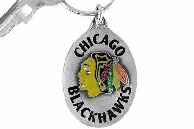 SWW14959KC - CHICAGO BLACKHAWKS LOGO KEY CHAIN