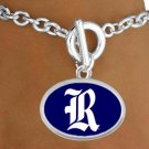 "SWW19139B - RICE UNIVERSITY OWLS  ""R-LOGO"" BRACELET"