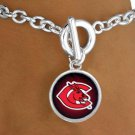 "SWW13445B - LICENSED UNIVERSITY OF CENTRAL MISSOURI ""MULES"" MASCOT BRACELET"