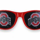 SWW20827SG - THE OHIO STATE UNIVERSITY  OFFICIAL LOGO RED SUNGLASSES