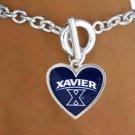 SWW16043B - XAVIER UNIVERSITY MUSKETEERS BRACELET
