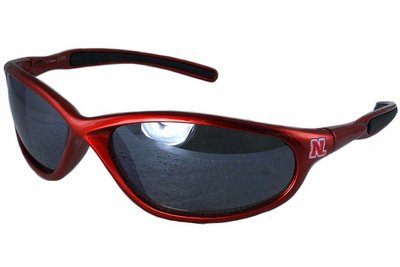 "SWW13689SG - UNIVERSITY OF NEBRASKA ""HUSKERS"" LOGO SUNGLASSES"