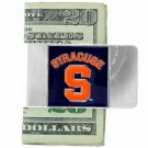 SWW15969MC - SYRACUSE UNIVERSITY ORANGE MONEY CLIP
