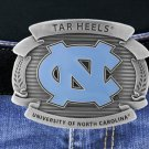 "SWW16883BK - UNIVERSITY OF NORTH CAROLINA ""TAR HEELS"" LOGO BELT BUCKLE"