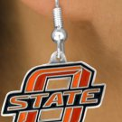 SWW15159E - OKLAHOMA STATE UNIVERSITY COWBOYS EARRINGS