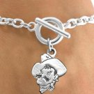 "SWW13327B - LICENSED OKLAHOMA STATE UNIVERSITY ""COWBOYS"" BRACELET"
