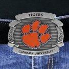 "SWW17645BK - CLEMSON UNIVERSITY ""TIGERS"" BELT BUCKLE"