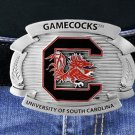 "SWW16880BK - UNIVERSITY OF SOUTH CAROLINA ""GAMECOCKS"" LOGO BELT BUCKLE"