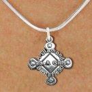 """SWW293SN5 - SOFTBALL CHARM & NECKLACE  """"A DIAMOND IS A GIRLS BEST FRIEND"""""""