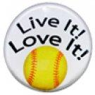 "SWW1244SC - ""LIVE IT! LOVE IT! - SOFTBALL"""