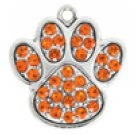 SWW1061SC - ORANGE CRYSTAL PAW