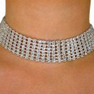 SWW2073N - BEAUTIFUL SWAROVSKI CRYSTAL NECKLACE / CHOKER