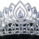 SWW17662T - STUNNING GENUINE AUSTRIAN CRYSTAL CROWN TIARA
