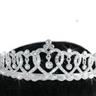 """SWW16579T - """"CONNECTED AT HEART"""" GENUINE AUSTRIAN CRYSTAL TIARA"""