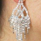 SWW18873E - GENUINE AUSTRIAN  CRYSTAL CHANDELIER EARRINGS