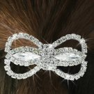 "SWW16566HJ - GENUINE AUSTRIAN CRYSTAL COVERED ""BUTTERFLY BOW"" PONYTAIL HOLDER"