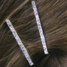 SWW12662HJ - 3MM GENUINE AUSTRIAN CRYSTAL BOBBY PIN 2-PIECE SET