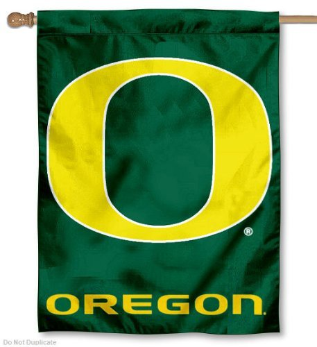 Oregon Ducks House Flag - SWAZC