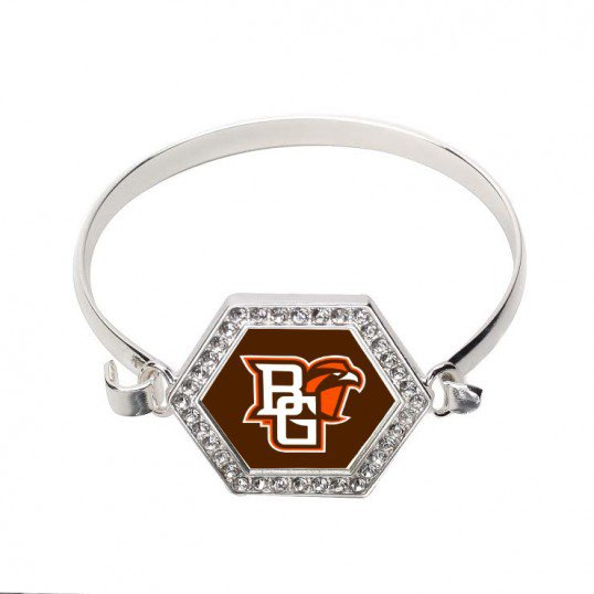 3.5 CARAT BOWLING GREEN STATE UNIVERSITY HEXAGON BRACELET - SWINSPS-BR-22409
