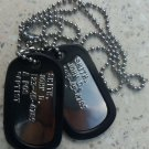 Real Shiny Military Dog Tags Dogtags Made Just For U