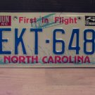 1986 North Carolina Passenger License Plate NC #EKT-648