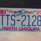 2006 North Carolina NC License Plate Tag #TTS-2128 Mint Stickered