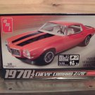 AMT 1970-1/2 Chevy Camaro Z28 1/25 Scale Model Kit Sealed in Box