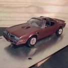 1977 Pontiac Trans Am T-top 1:25 Scale Model in Brown Metallic