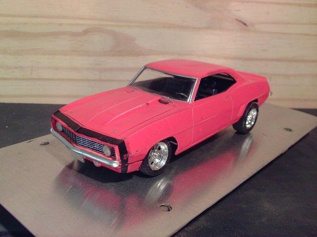 1969 Chevrolet Camaro Z/28 1:24 Scale Model in Red