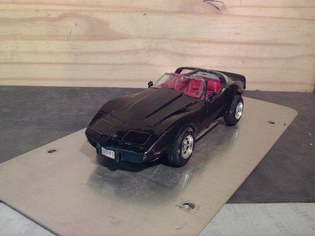 1978 Chevrolet Corvette 1/25 Scale Model in Black