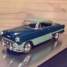 1953 Custom Chevrolet Bel-Air 1:24 Scale Model in 2-tone Blue