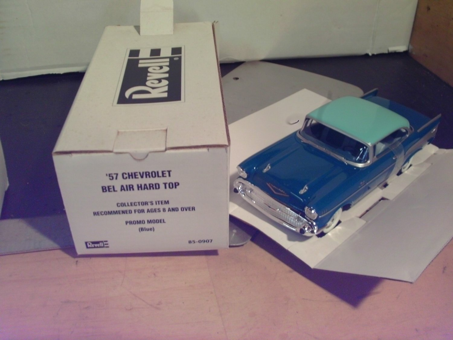 1957 Chevrolet Bel-Air Promo Model by Revell 1:24 scale