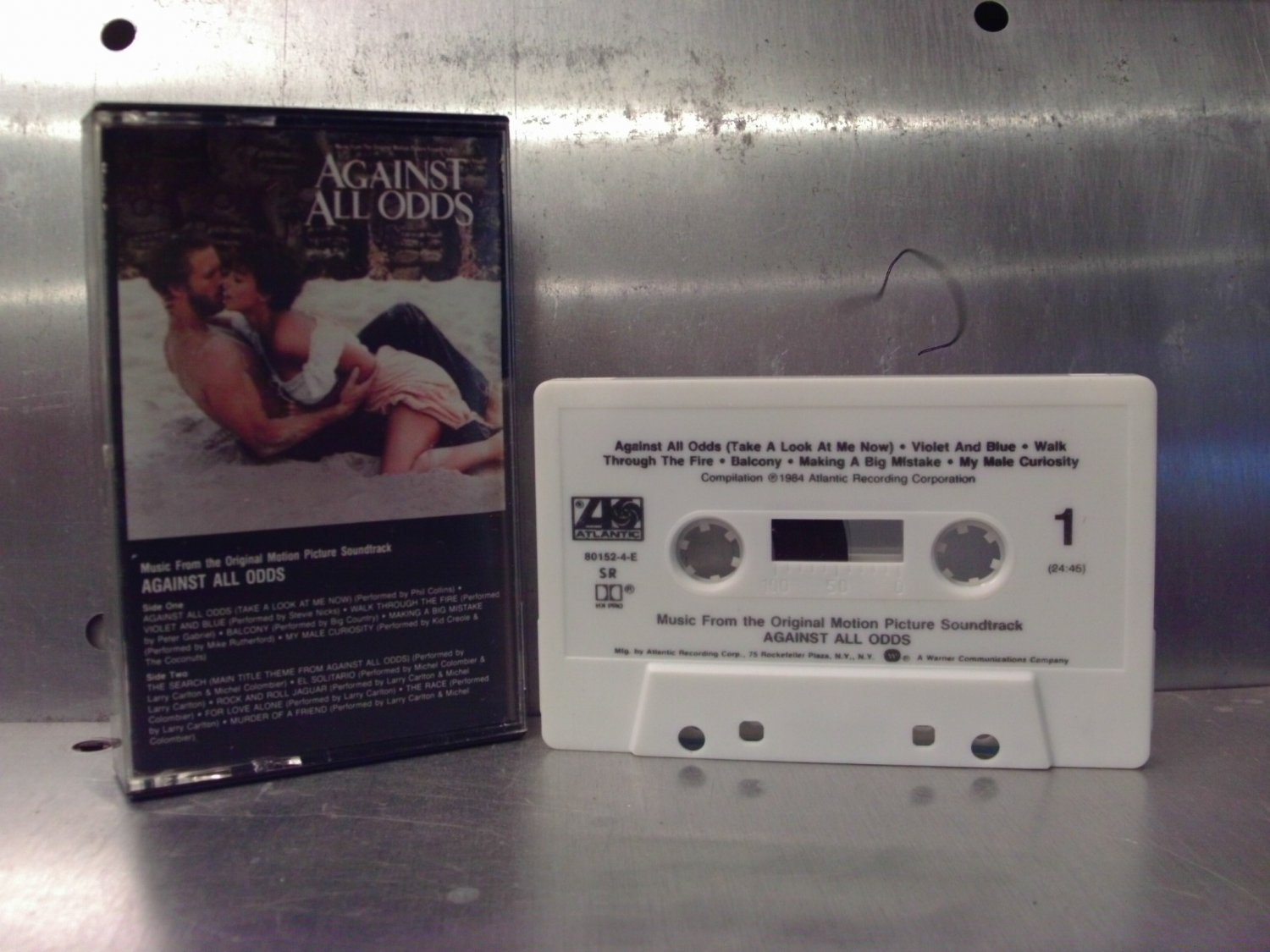 Against All Odds - Movie Soundtrack Cassette Tape A1-15