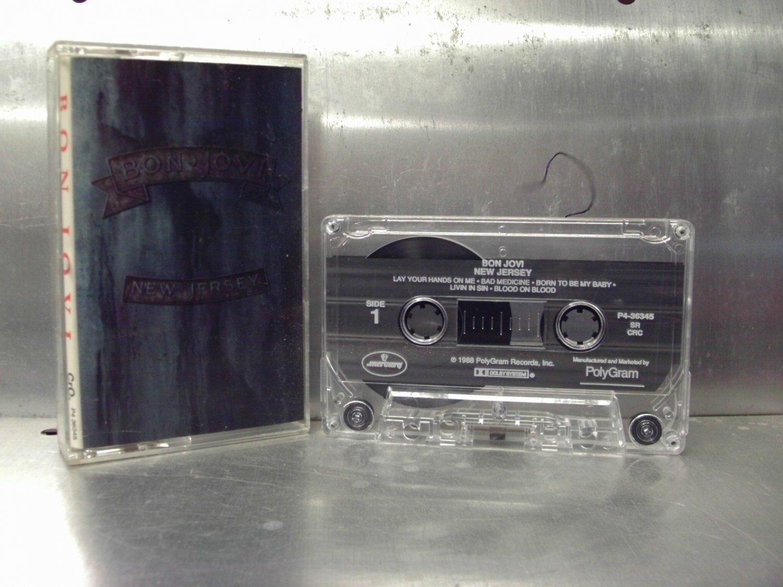 Bon Jovi - New Jersey Cassette Tape A1-33