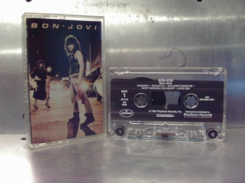 Bon Jovi - Self-titled Cassette Tape A1-30