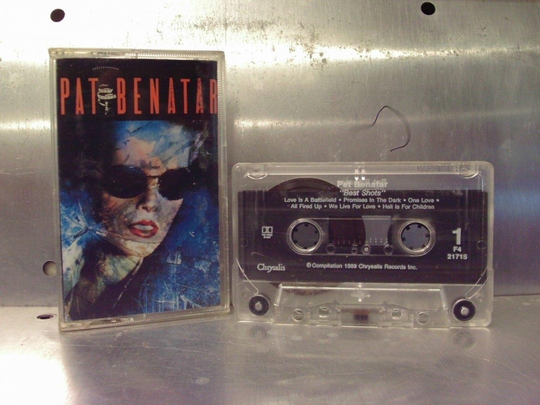 Pat Benatar - Best Shots Cassette Tape A1-25