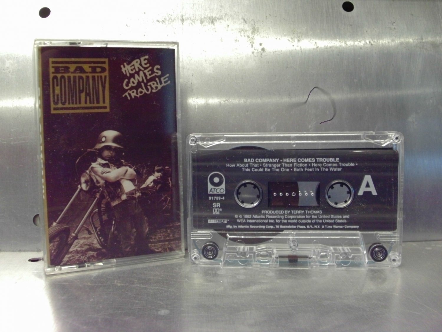 Bad Company - Here Comes Trouble Cassette Tape A1-21
