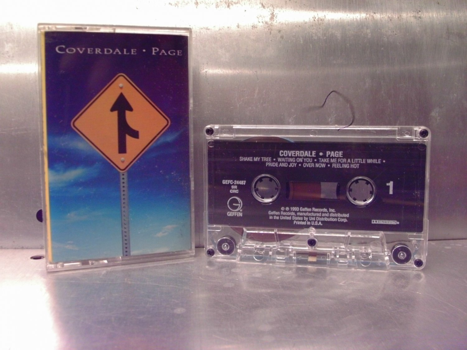 Coverdale-Page - Self Titled Cassette Tape A1-67