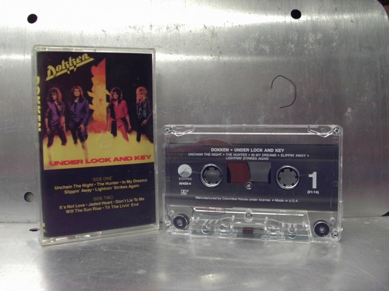 Dokken - Under Lock and Key Cassette Tape A1-80
