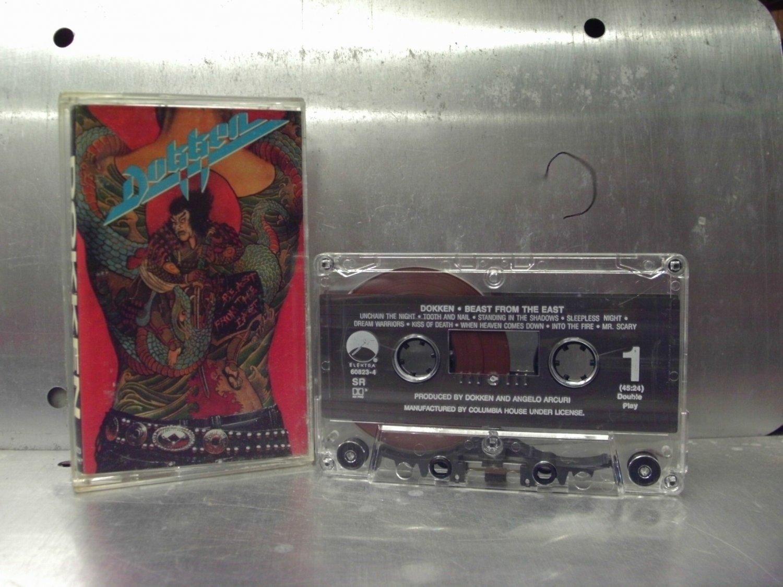 Dokken - Beast From the East Cassette Tape A1-81