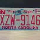 2009 North Carolina NC License Plate Tag #XZW-9146 EX-N